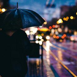 chuva na cidade