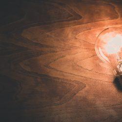 luz no escritório