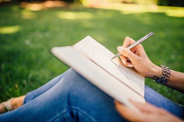 escrevendo conteúdo
